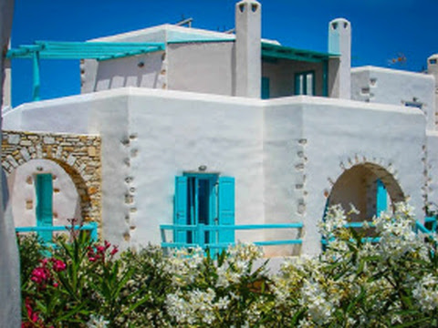 Grecia  en Cyclades Islands, Paros