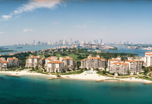 Amerika  in Florida, Fisher Island FL