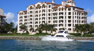 USA  in Florida, Fisher Island FL