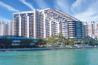 USA  in Florida, Brickell-Key