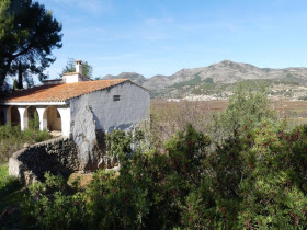 Spanje  in Valencia, Lliber-Jalon Valley