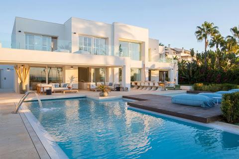 Spanje  in Andalucia, Golden Mile-Marbella