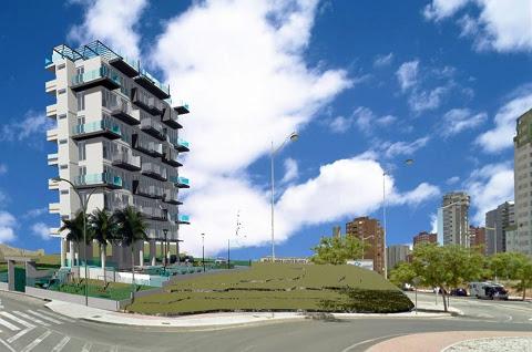Spanje  in Valencia, Finestrat