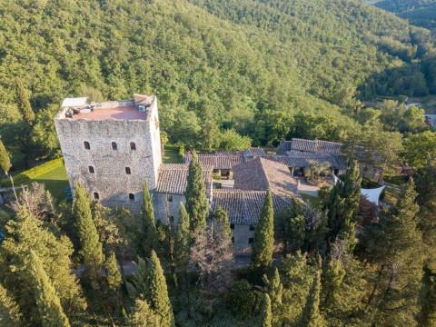 Italia  en Tuscany, Gaiole in Chianti