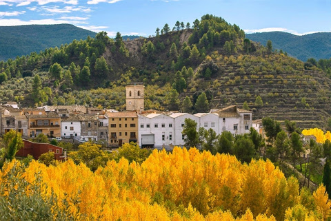 Spanje  in Valencia, Benilloba