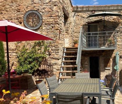 Frankrijk  in Languedoc-Roussillon, Faugeres